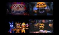 FNAF Sparta Quadparison Extended 1