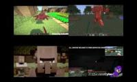 Lets Created FTW--- Sparta Extended Remixes Side By Side 88 (Minecraft Edition )