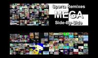 Sparta Remixes Parison Ultimate Mega Side By Side