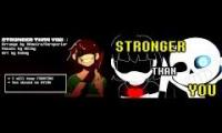 Stronger than You Parody- Undertale- Sans and Chara Duet