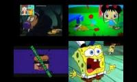 Dog, Kai-Lan, Klasky Csupo And Spongebob has a Sparta Madhouse V3 Remix