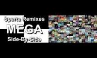 Sparta Remixes Mega Side By Side 1 vs 2 Sparta Remixes Mega Side By Side 2