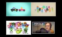 4 Dumb Ways to Die parodies in one video