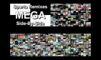 Sparta Remixes 2015 Megas Side By Sides 1 vs 2