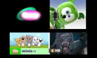 Barney vs Gummy Bear Song vs Talking Tom Movie vs King Kong