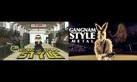What if Gangnam Style had a heavy metal breakdown?