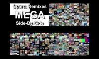 Sparta Remixes Mega Side by Side Quadparison