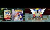 Sonic Fan Mashup - Scrap Brain Zone