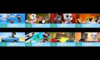 All My Talking Tom episodes side by side