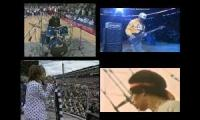 Steven Tyler Chad Smith Flea Spangled Banner