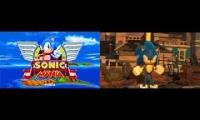 Sonic 2017 Trailers Side by Side