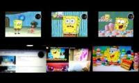 (Spongebob NT mash up) All the videos of Sparta Remixes Reactions