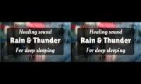 Rain anh thunder sounds