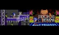 Sonic Mania - Studiopolis Zone Act 1 (?) [Genesis and SNES (by Yuzoboy)] Mashup
