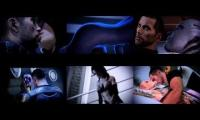 mashup of mass effect romance scenes
