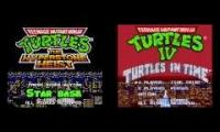 TMNT Star Base  - Hyperstone Heist vs Turtles In Time