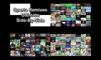 Sparta Remixes Ultimate Side By Side Quadparison