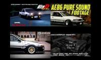 Thumbnail of Initial D meme very fast high speed driving eurobeat meme