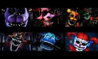 Markiplier Five Nights at Freddy's 1-5 The End