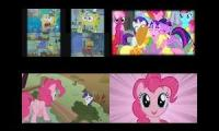 SpongeBob vs My Little Pony Sparta Remixes 2016 Side By Side