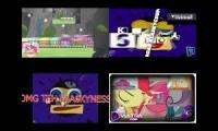MLP vs Klasky Csupo Sparta Remix Side By Side 1