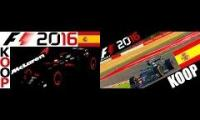 F1 2016 KOOP Dave Gaming vs. Bazman