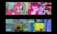 Pinkie Pie vs SpongeBob NT Sparta Remix