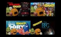 trailers trashed by annoying Orange