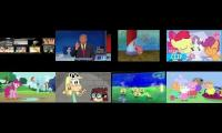 15 Videos Playing At Once