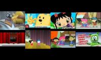 annoying goose Navidad wow wow wubbzy and Pucca and Captain FIamingo part 4
