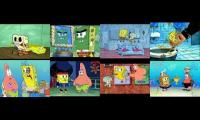 8 spongbob at the same time