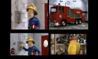 Fireman Sam Theme Multi-Language at Once Quadparison 2