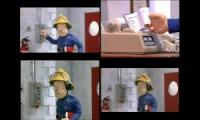 Fireman Sam Theme Multi-Language at Once Quadparison 3