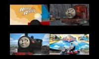 Thomas And Friends Movie Battle Quadparison