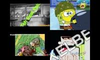 cartoon network vs nickelodeon quadparison