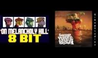 On Melancholy Hill (Gorillaz): 8-bit Not Bulby vs. Original