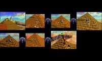 SM64 ALL Shining Inside The Ancient Pyramid Strats+Talon Backup Comparison