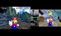SM64 Siglemic's 120 WR (1:43:53) vs. Cheese 120 WR (1:40:10)