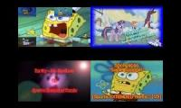 SpongeBob vs My Little Pony Sparta Remix Quadparison 2017 (My Version)