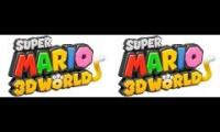 Super Mario 3D World World Mushroom and Flower Mashup