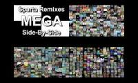 Sparta Remixes Giga Side by Side