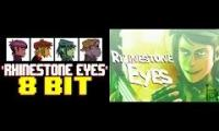 Rhinestone Eyes (Gorillaz): 8-bit Not Bulby vs. Original