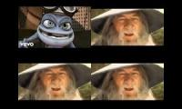 hallo this is a good remix of crazy frog and gandalf