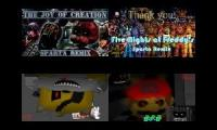 FNAF + Fan Games Sparta Quadparison #1