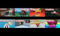 8 of EthanGamer's videos played at once (Warning: EXTREMELY LOUD)