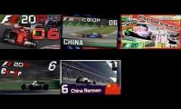 F1 2017 GERMAN YOUTUBER CHAMPIONSHIP #06 China Rennen