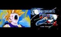 This is an epic mashup for SSJ2 Gohan and Thunder Force IV