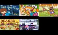 All 5 Cartoon Network Invaded Games All At Once