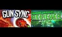 Imagine Dragons - Beleiver - Double Gun Sync