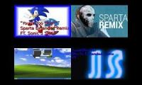 Let's Remake FTW 01 --- Sparta Extended Remixes Side-By-Side 236